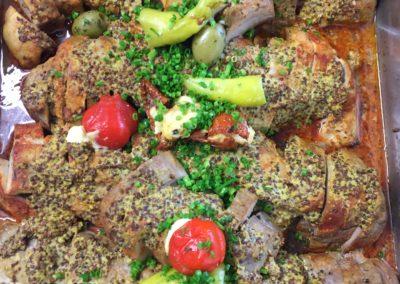 Schweinefilet Dijon-Senf
